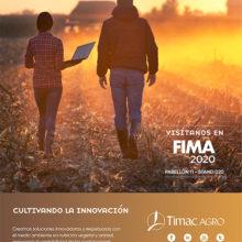 Timac Agro muestra su innovación en FIMA 2020