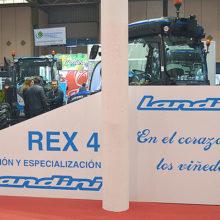 Landini muestra en Agrovid su gama de tractores especialistas