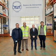 ViaLider, red de talleres Michelin, colabora con el Banco de Alimentos