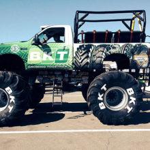 BKT estará en Conexpo con sus neumáticos y el mundo de Monster Jam