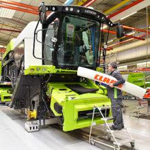 Claas reduce la producción en serie en Harsewinkel de manera controlada