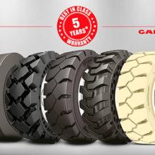 ATG amplía a 5 años la garantía de sus neumáticos macizos Galaxy