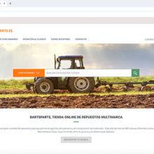 La plataforma de repuestos online BartParts ayuda a los concesionarios agrícolas