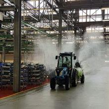 Argo Tractors se prepara para comenzar a producir