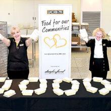 JCB entrega más de 10.000 comidas para ayudar en la crisis de Coronavirus