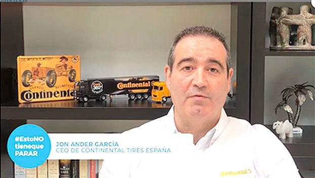 Jon Ander García en la campaña Esto no tiene que parar