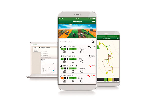 Fendt Smart Farming gestión de flotas