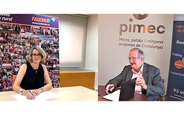 Fademur y Pimec firma de convenio