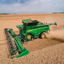 John Deere amplía su gama de cabezales para cosechadoras
