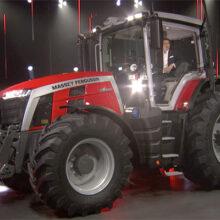 Massey Ferguson entra en una nueva era con los tractores MF 8S