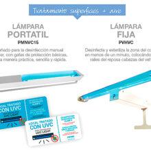 Higienización con lámparas en el transporte de NEX