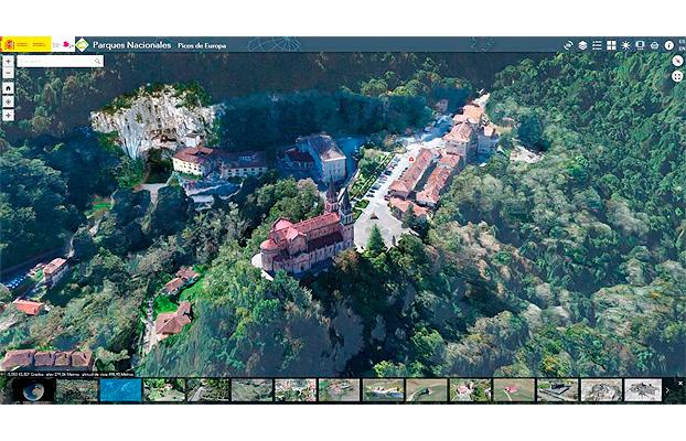 Parques Nacionales interactivos de España