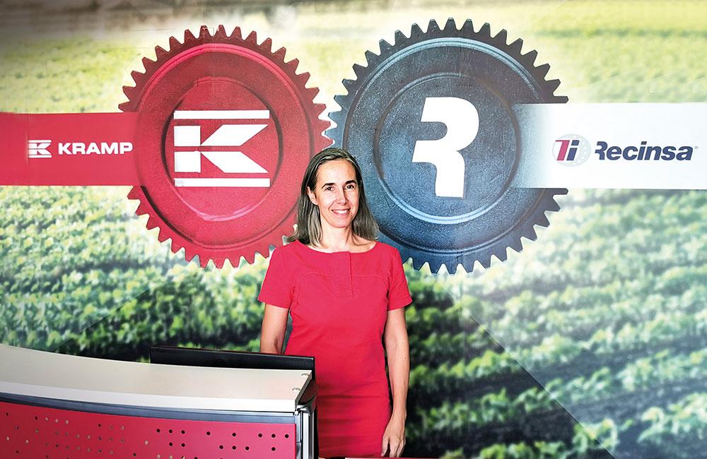 Virginia Rodríguez, directora comercial de Kramp-Recinsa
