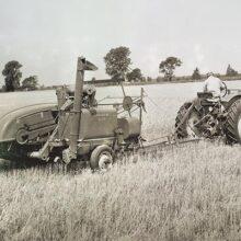 Historia de las cosechadoras