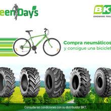 BKT y San José regalan bicicletas por la compra de sus neumáticos
