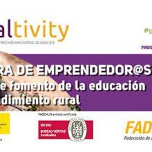 Tercera edición de la lanzadera de proyectos FADEMUR Ruraltivity