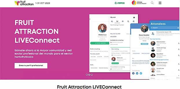 Fruit Attraction LIVEConnect analiza la exportación a Reino Unido