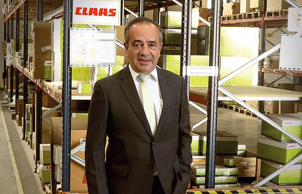 José Ignacio Vega, director general de CLAAS Ibérica.