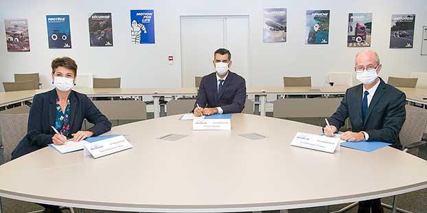 Michelin y Pyrowave inician una nueva tecnología de reciclaje de plásticos