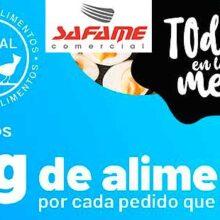 """Safame Comercial inicia su campaña solidaria """"Todos en la mesa"""""""