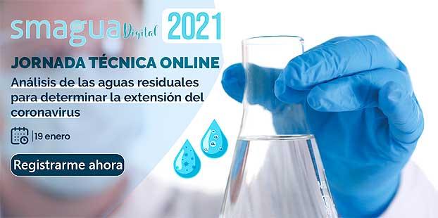 Jornada online SMAGUA Digital sobre aguas residuales y Coronavirus