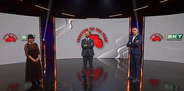 Premios Tractor of the Year 2021, patrocinados por BKT