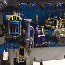 Potencia efectiva en motores de maquinaria agrícola