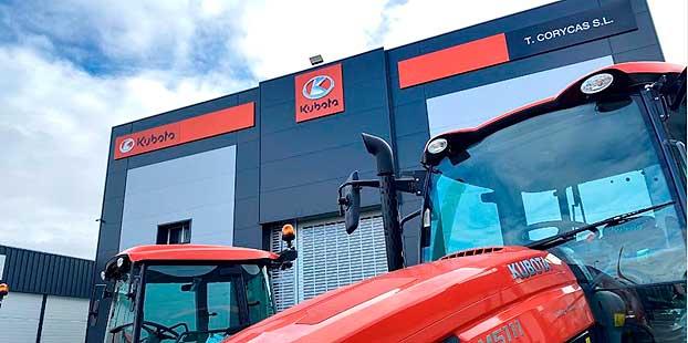El concesionario Kubota Talleres Corycas abre nuevas instalaciones