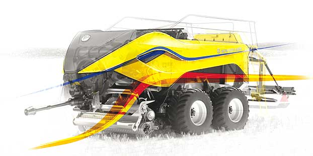 La BigBaler 1290 High Density de New Holland gana el Good Design Award