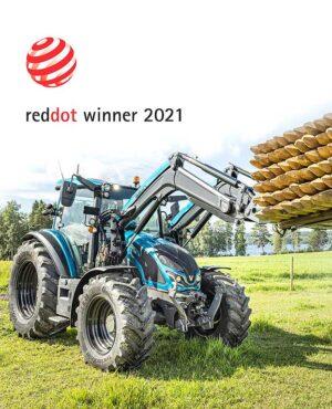 La serie G de Valtra recibe el premio al diseño Red Dot 2021