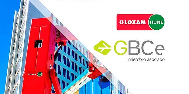 LoxamHune se asocia a Green Building Council España