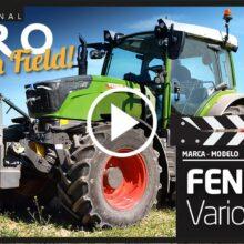 Fendt 211 Vario Profi+, sorprendente en el campo