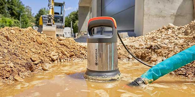 Nuevas bombas sumergibles Gardena para aguas limpias y sucias