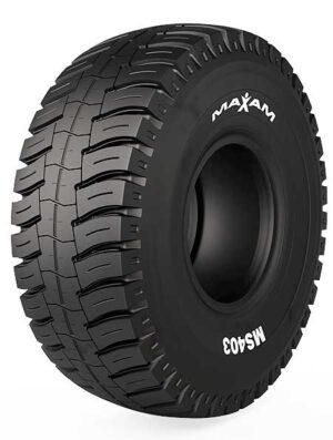 MAXAM presenta el tamaño más grande del neumático MS403