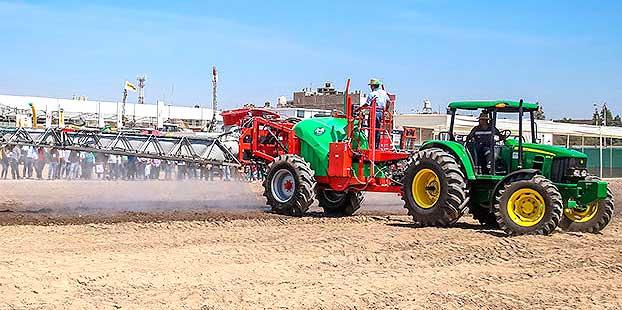 La inscripción de maquinaria agrícola se mantiene estancada