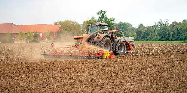Pöttinger presenta la nueva sembradora con tolva frontal AEROSEM 6002